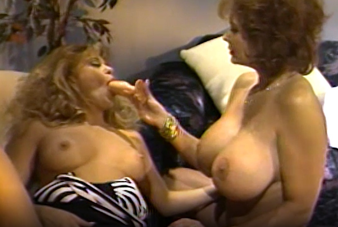 80S Latina Porn lesbian busty babes 80's fingering
