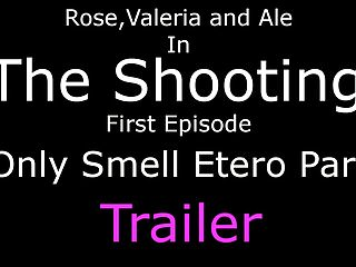 Footjob smell - The shooting - only smell etero