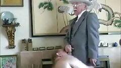 micboc's grandpas video collection - Chubby Sucks Grandpa