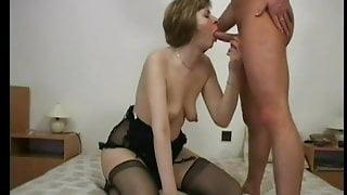 Her big nipples make me cum
