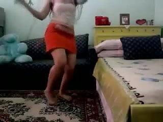 A teen dance Arab horny teen dance