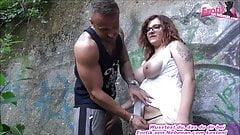 German amateur big natural boobs teen girl next door outdoor