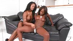 Sexy Black Teen Slut Gets Her Pussy Fucked