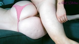 I film the huge ass of my Stepmom fucking in close-up!