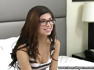 Ass coed gorgeous Teensdoporn nerdy 18 yearold teen facialized