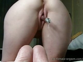Slutload wet pussy - Amazing wet pussy and strong pussy snapping orgasms