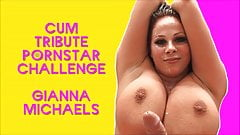 The Cum Tribute Pornstar Challenge Starring Gianna Michaels