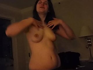 Matures with tiny tits Milf shaking her tiny tits