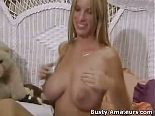 Interview with the virgin mary - Busty amateur mary playing her pussy after interview