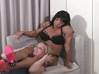 Fbb naked pecs flex videos Girl plays with fbb