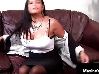 Cambodian tits Cambodian cougar maxine-x dark dicked in her butthole by bbc