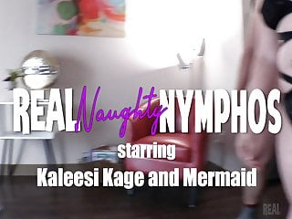 Fake mermaids with bikinis - Kaleesi and mermaid orgy