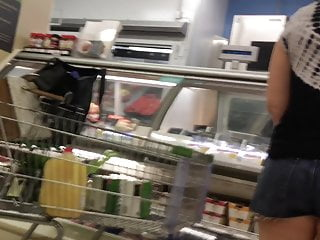 Milf hunter grocery store Grocery store booty