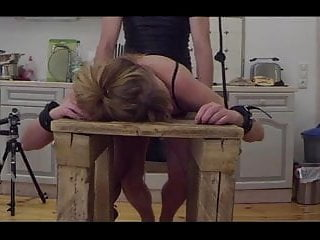 Gay pluges At the bench-little sunshine milf fucked, spanked and pluged