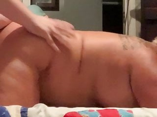 Sexy blonde doggystyle - Sexy southern chubby milf doggystyle creampie finish