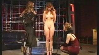 Mistresses use their slave girls