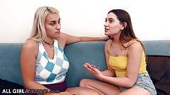Hot Teens Give Each Other A Deep Fingering Massage