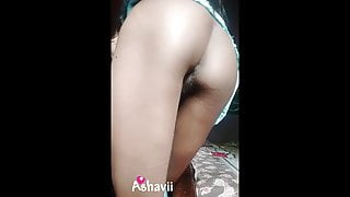 Teen Girl Plays with her small Ass and Big Tits