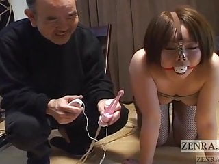 Heel over mouth and nose bondage Curvy japanese woman with nose hooks meets hot wax subtitled