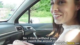 StrandedTeens - Antonia Sainz  - Leggy Babe Gets Fucked