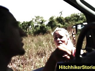Teen hitch hikeres - Helplessteens kaisey hitched and bounded