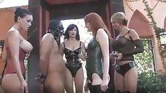 Cock Punishment, Goddess Brianna And Friends