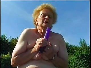 Fat granny fucked video Fat granny fucked in garden