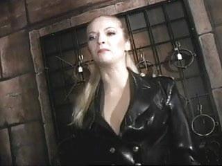 Lesbian bondage love British mistress demonica in lesbian bondage session