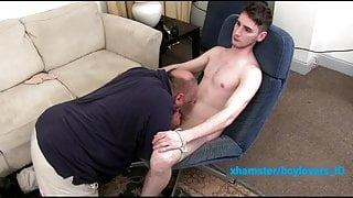 Daddy sucking my dick