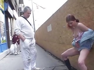 Amateur Little Tits Redhead Teen Exhibitionist Public Pee