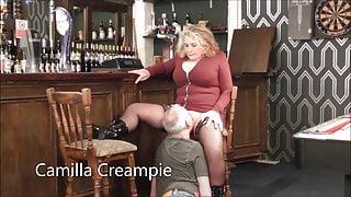 Camilla & Mr. Creampie in the Pub – Promo