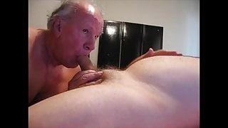 mature men enjoying a good blowjob.
