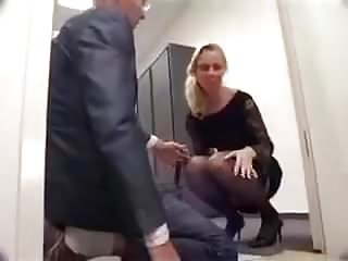 Rice bran facial wash Milf fucked by entire office then get washed in pee