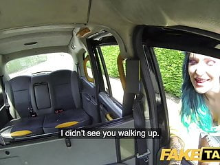 Fake ass Fake taxi ass to mouth with tattooed dirty british babe alex