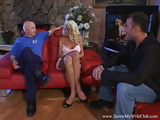 Mature stripp - Strippe rwife swings for husband