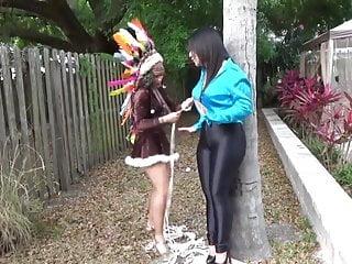 Squaw bondage pics Sahrye squaw