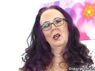 Granny still loves the cock - English granny zadi still loves rubbing her old fanny
