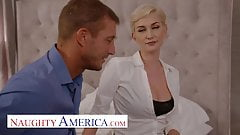 Naughty America - Your personal deep fuck realtor Skye Blue