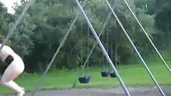 BBW Naked on the Playground