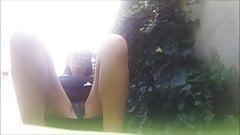 public video! pee in the park!