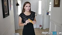 PropertySex – Hot young petite realtor fucks client for sale