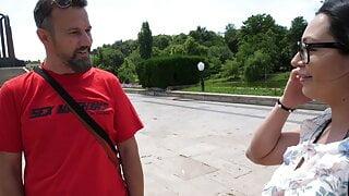 Arschcreampie mit mega geiler Milf aus Bukarest