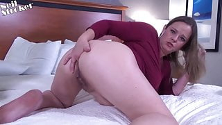 I fuck my friends wife as soon as we get in the hotel