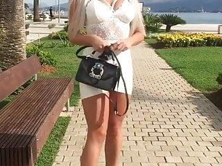 Hot milf in elegant dresses tgp Very hot serbian milf in very short dress and high heels