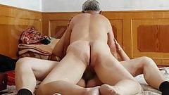 Asian Grandpa Creampies Prostitute