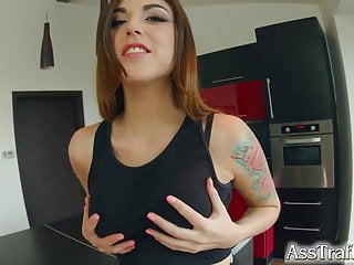 Rough anal sex fee Asstraffic babe loves rough anal sex