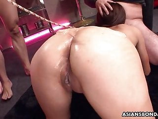 Hiv infection from oral sex Asian bitch has a threesome that is bdsm infected