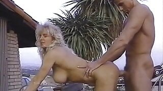 Very sexy muscle milf Delta Force has sex