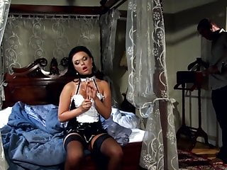 Latex maids Glamour maid fucked in stockings and high heels