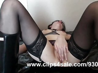 Rubber hip boot fetish - Rubber sex in hunter boots and licking cum